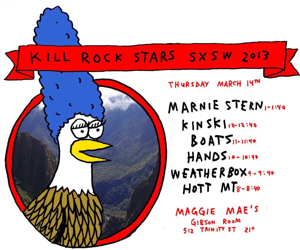SXSW kill rock stars