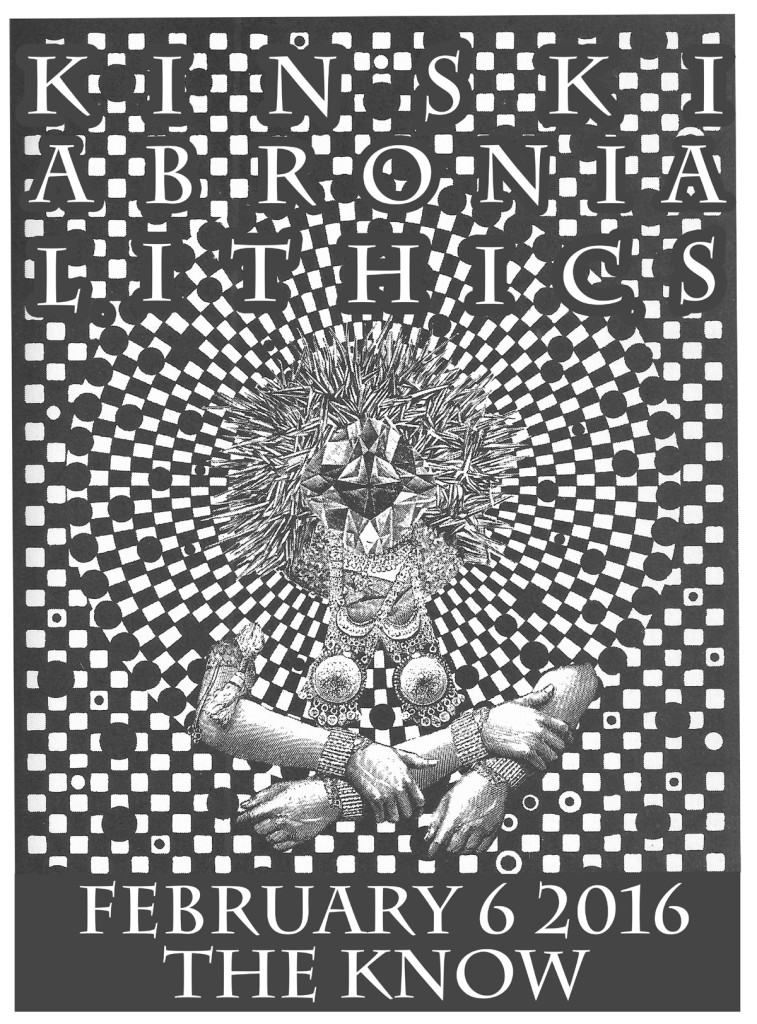 2016_02_06 PDX The Know w Lithics_Abronia_Flyer smaller